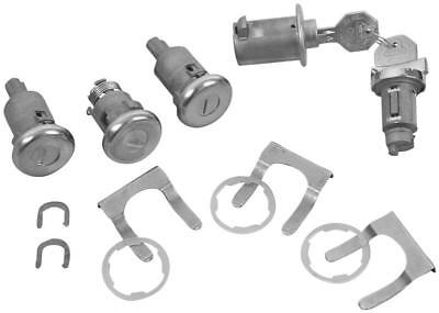 1963 Impala, BelAir Ignition, Door, Glovebox & Trunk Original-style Lock Kit