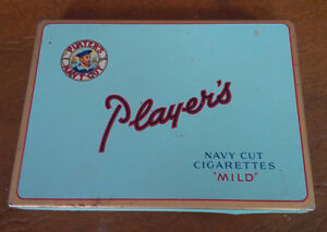 "Player's Navy Cut ""Mild"" Tin Kitchener / Waterloo Kitchener Area image 1"