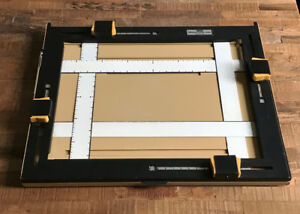"""11x14"""", 4 blade Universal Easel by LPL Japan for print making"""