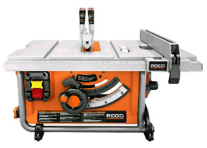 NEW - RIDGID 15 Amp Corded 10-Inch Compact Table Saw R45171NS