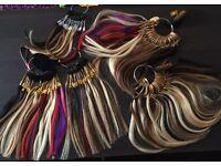 Nano ring, micro ring, fusion bond & easy shrink hair extensions