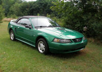 2001 Ford Mustang Convertible V6 *Safetied* *Low KMs*