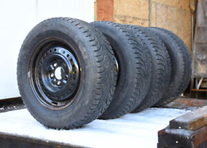4 Winter Claw Tires