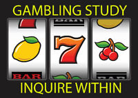 Looking for VLT/Slot Machine Players! $40 Compensation!