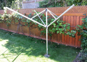 Used Outdoor Umbrella Clothes Dryer