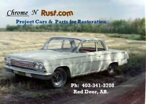 CHROME N RUST PROJECT CARS TRUCKS & PARTS