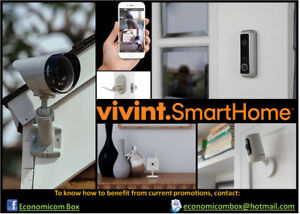 Vivint Security, Camera, Monitoring & Home Automation Promotions