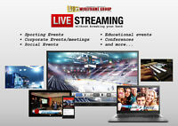 LIVE Broadcast Web Streaming Services