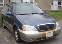 """2002 Kia Sedona """"Reduced Price"""" - For repair or for parts"""