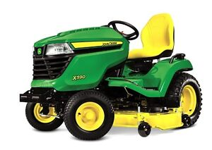 $660 off ALL X Series Lawn Tractors