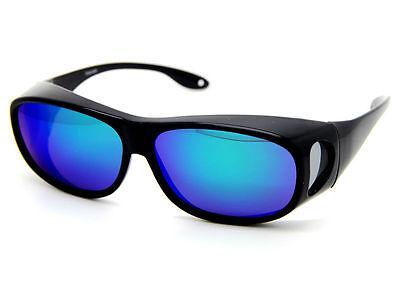 Polarized Sun Shield Sunglasses Sun Goggle UV400 Prescription Fits Over Glasses