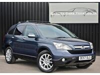 Honda CR-V CRV 2.2 i-CTDi Diesel EX *Nav + Panoramic Roof + Heated Leather etc*