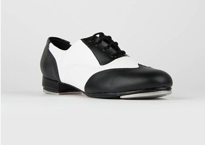 So Danca Spectator Black and White Tap Shoe for Women, NEW