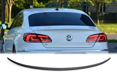 For Volkswagen CC Coupe Carbon fiber rear boot spoiler wing Lip 2009-2017 USA