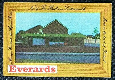 Matchbox label Everards Pub The Balloon Lutterworth Leicestershire MC976