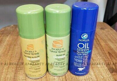 - Isoplus Natural Remedy Tea tree & Aloe /  Olive oil / Protective Hair spray 1