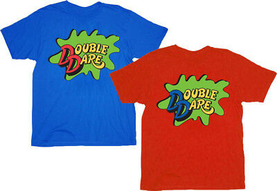 Double Dare Logo Costume Adult T-shirt Tee - Double Dare Costume