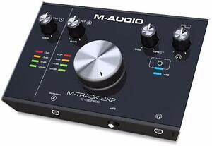 M-Audio M-Track 2x2 Interface audio usb-c 24/192