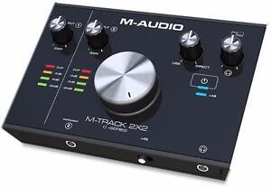 M-Audio M-Track 2x2 Interface audio usb-c 24/192