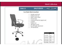 Comfy Office Desk Computer Chair Padded Seat Swivel Lift Chair