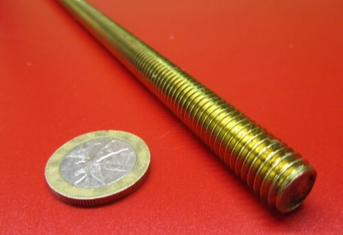 "Threaded Brass Rods, RH, 7/16""-14 x 2 Foot Length"