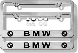 Bmw License Plate Cover Ebay