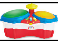 Little Tikes Bongos Drums Musical Toys Instruments Learning NEW Christmas Gift