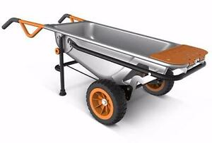 BRAND NEW! Worx AeroCart: The Ultimate 8-in1 Multi-Function Yard Cart WG050