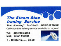 The Steam Stop Ironing Service