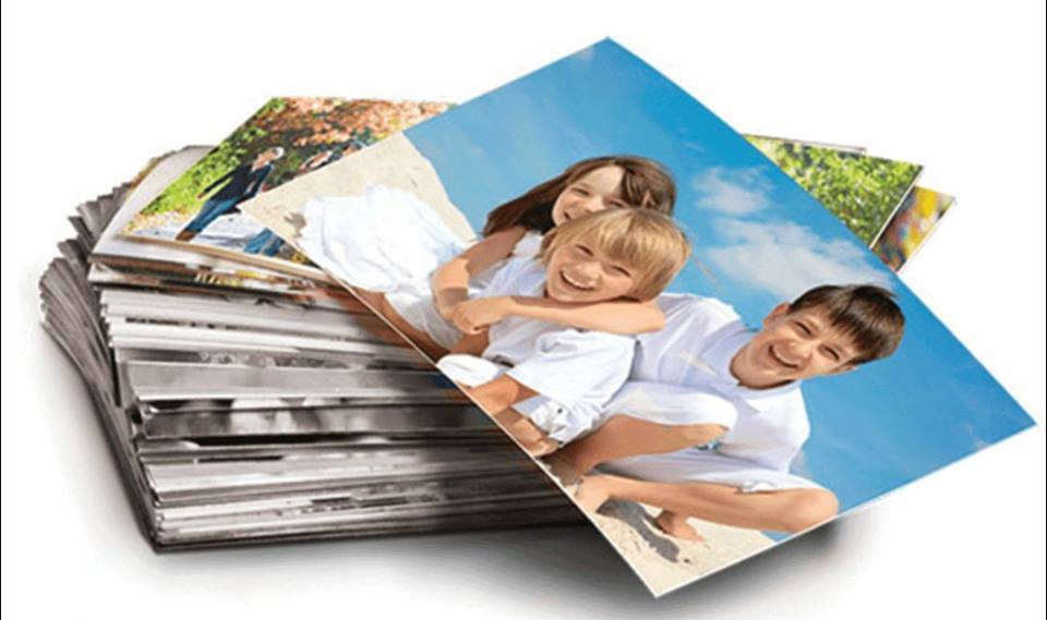 Personalised Custom Photo Picture Print Memory Gloss Matte Paper Personal Media