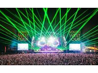 4X SW4 tickets for SUNDAY DAY TICKET CHEMICAL BROTHERS HEADLINE £200