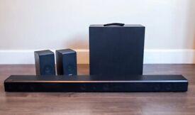 Samsung HW-K950 Soundbar w/ Dolby Atmos, Wireless Subwoofer & Surround Speakers