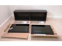 Glossy black TV unit