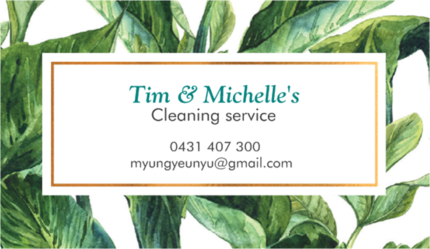 Tim and Michelle's Cleaning