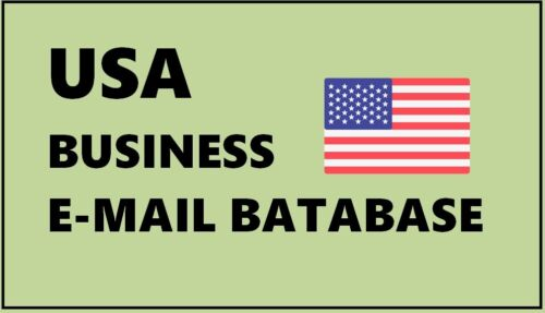 USA Business Email Lists, USA Email Database,USA B2B Emails, USA B2C Emails