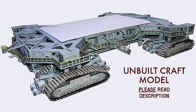 Space Shuttle Era Crawler Transporter 1:72 Model Kit for Mongram w/Tank/Boosters