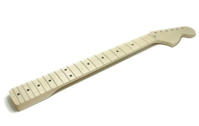 NEW Fender Lic Allparts Stratocaster Strat NECK Maple Large 70s Headstock LMO