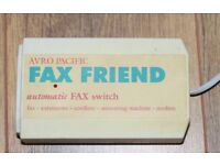 Fax Friend (Run a fax machine & phone from 1 phone line)