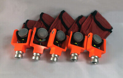 5pcs Mini Prism For Topcon Sokkia Pentax Total Station Offset -300mm