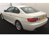 2013 BMW 320D 2.0 M-SPORT COUPE GOOD / BAD CREDIT CAR FINANCE AVAILABLE