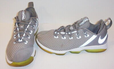 f4e970e133c3a Nike Men s Lebron XIV Low Ankle-High Basketball Shoes  Silver  Size 9