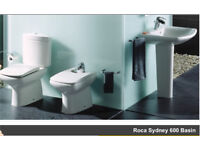 Rock Sydney Basin & Roca Sydney Close Coupled WC