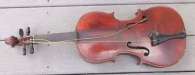 antique  full size  violin German Stradivarius copy model
