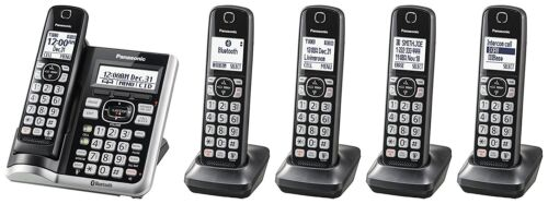 Panasonic KX-TGF575S DECT 6.0 Plus Link-to-cell Bluetooth Cordless Phone System