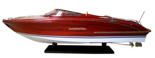 "Rivarama Handcrafted Wooden Model Boats 26"""