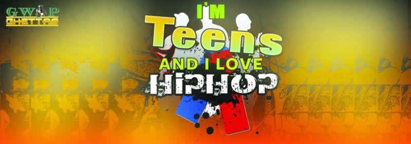 """ I'm Teen's and I Love Hip Hop ""- Bumper Sticker"