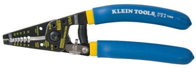 Klein Tools 11055 Klein Kurve® Wire Stripper / Cutter - Double Dipped Handles