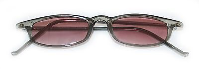 Reading Glasses Tinted Sunglasses Beach Readers Smoke Gray Polished Frame +3.75 ](Beach Reading)