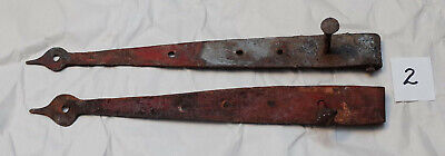 Antique Hand-wrought Iron Strap Hinge #2