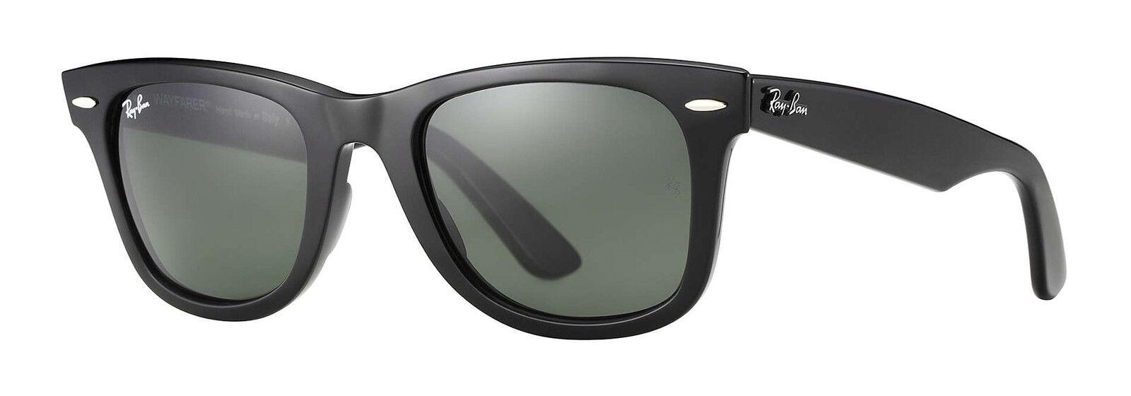 Ray-Ban RB2140 Original Wayfarer Classic 50mm Black Sunglasses   eBay 2e403922b8